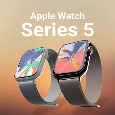 FIRST LEAKS FOR APPLE WATCH SERIES 5