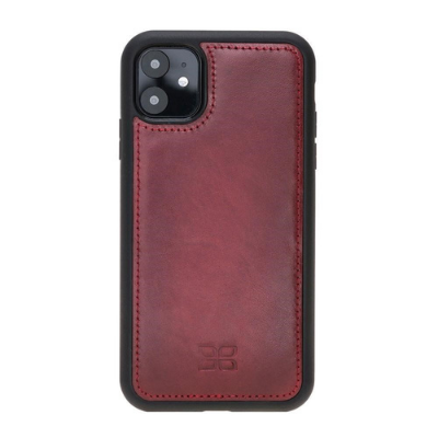 """Flex Cover Back Leather Case for Apple iPhone 11 6.1"""""""