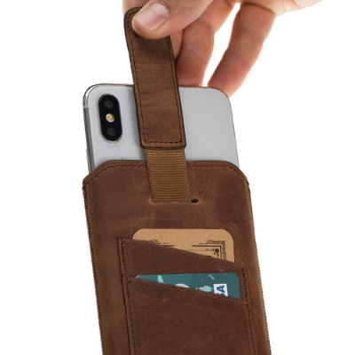 Multi Leather Case with Card Holder for IPhone X