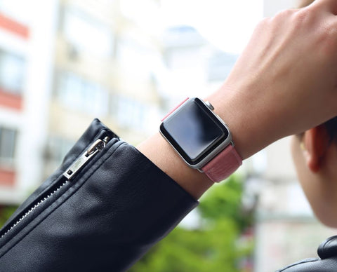 Classic Leather Watch Band