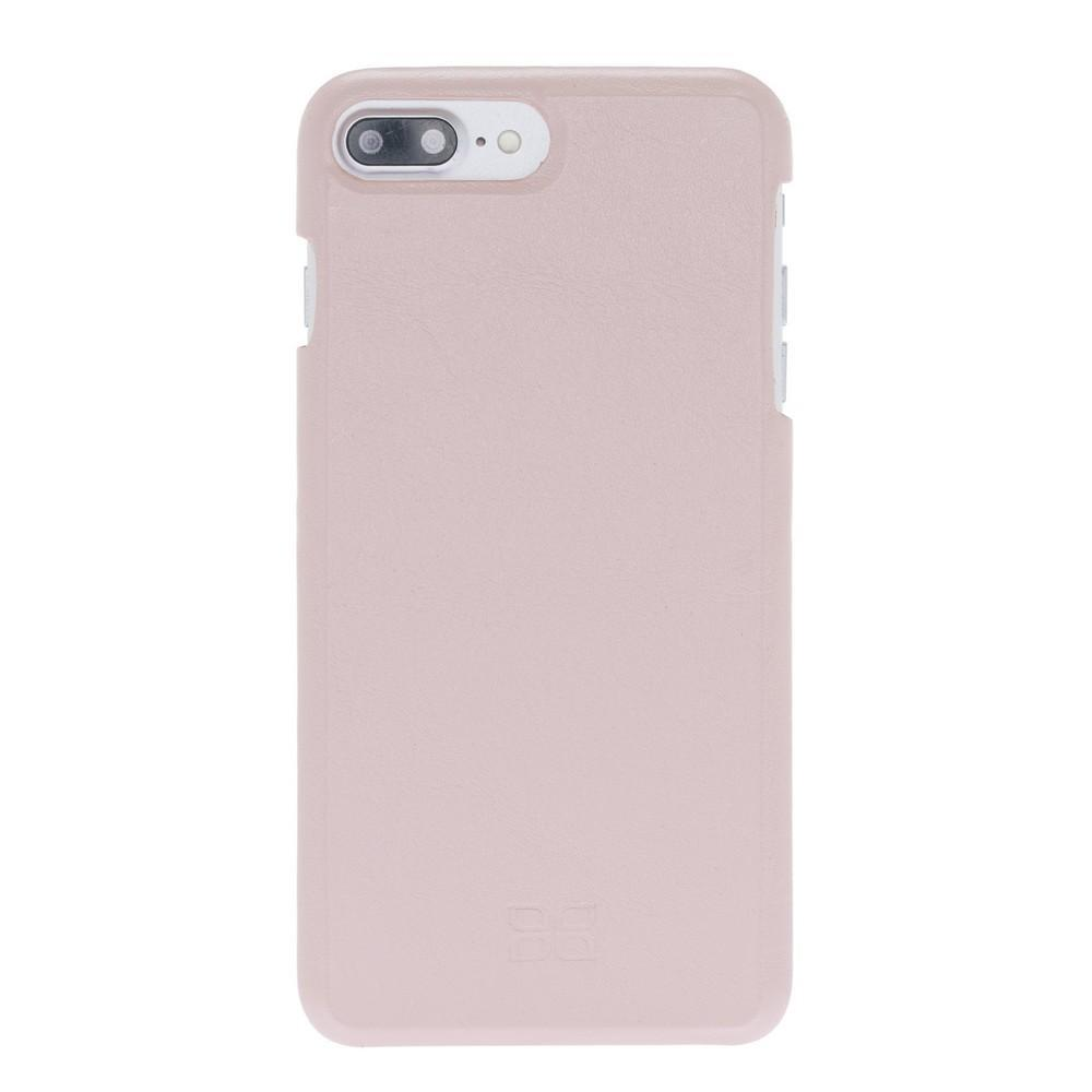 Cover Case F360 Leather Back Cover Case for Apple iPhone 7/8 Plus - Nude Pink Bouletta Shop