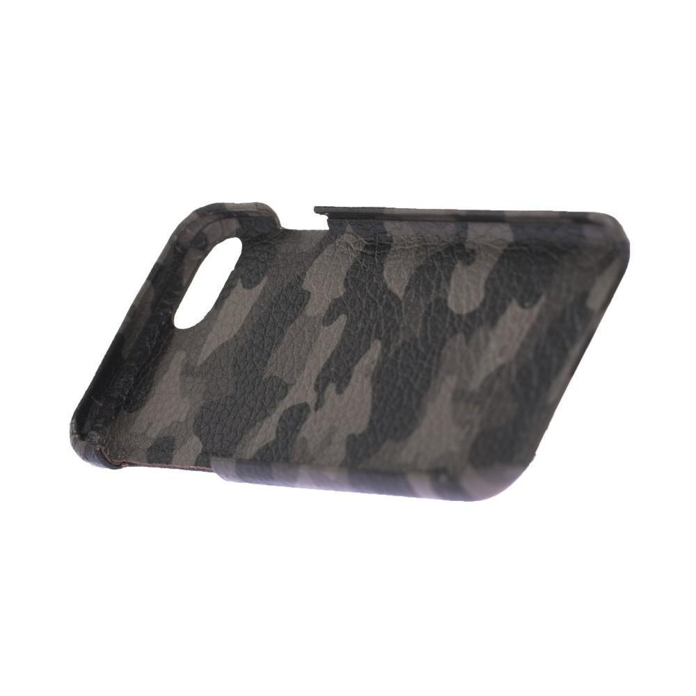 Cover Case F360 Leather Back Cover Case for Apple iphone SE2/7/8 - Camouflage Brown Bouletta Shop
