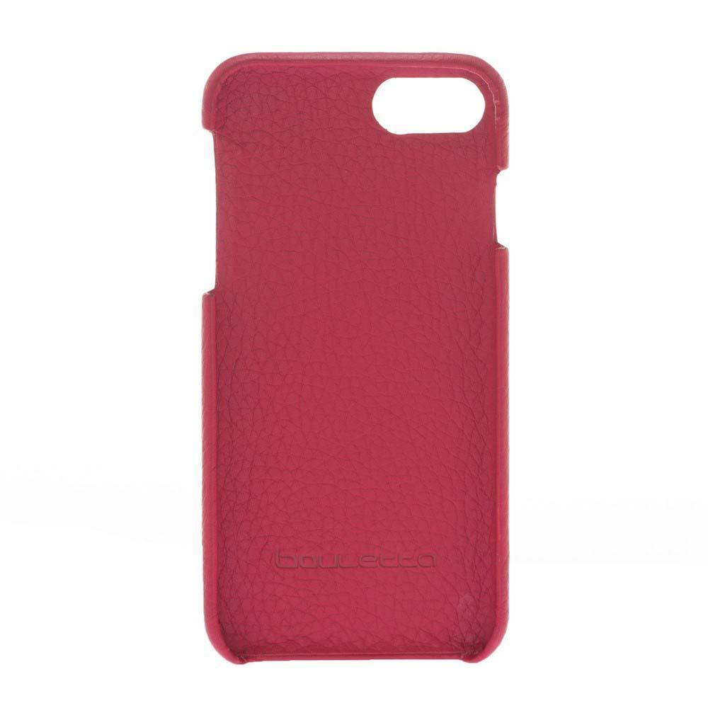 Cover Case F360 Leather Back Cover Case for Apple iphone SE2/7/8 - Floater Red Bouletta Shop