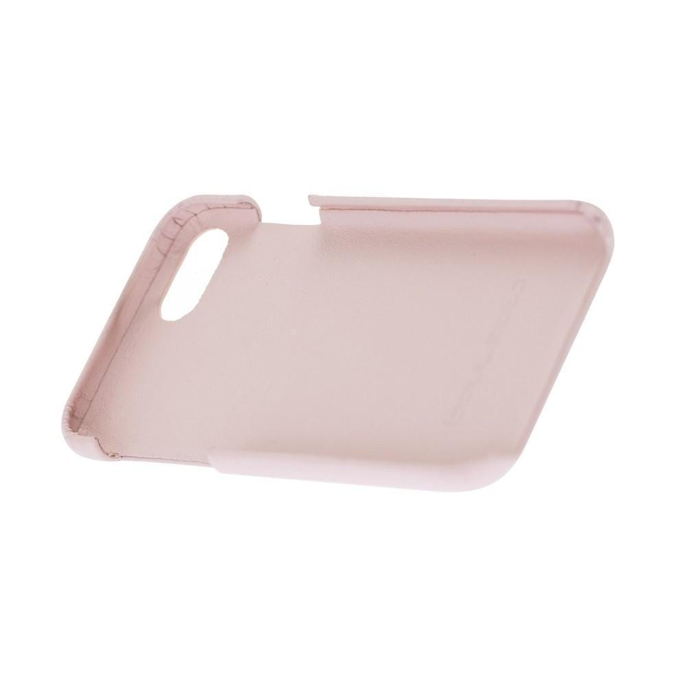 Cover Case F360 Leather Back Cover Case for Apple iphone SE2/7/8 - Nude Pink Bouletta Shop
