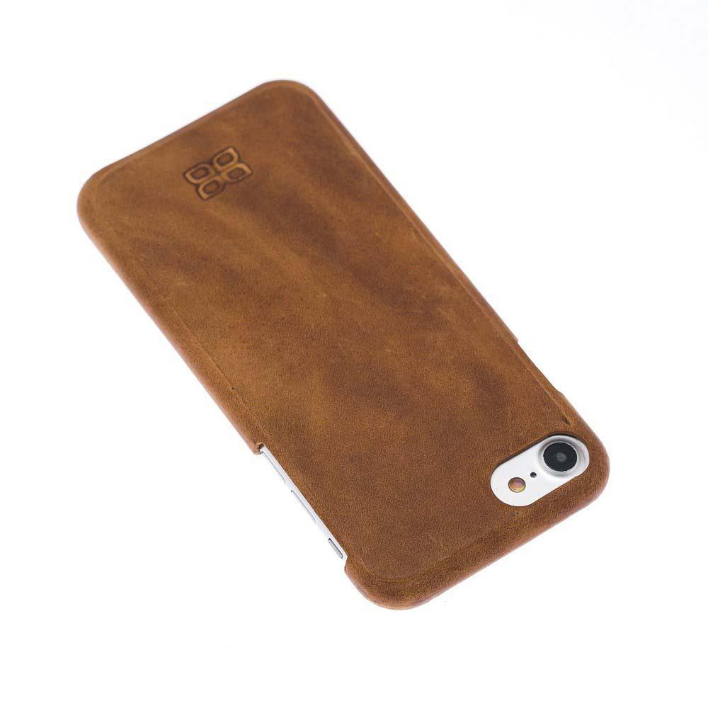 Cover Case F360 Leather Back Cover Case for Apple iphone SE2/7/8 - Rome Tan Bouletta Shop