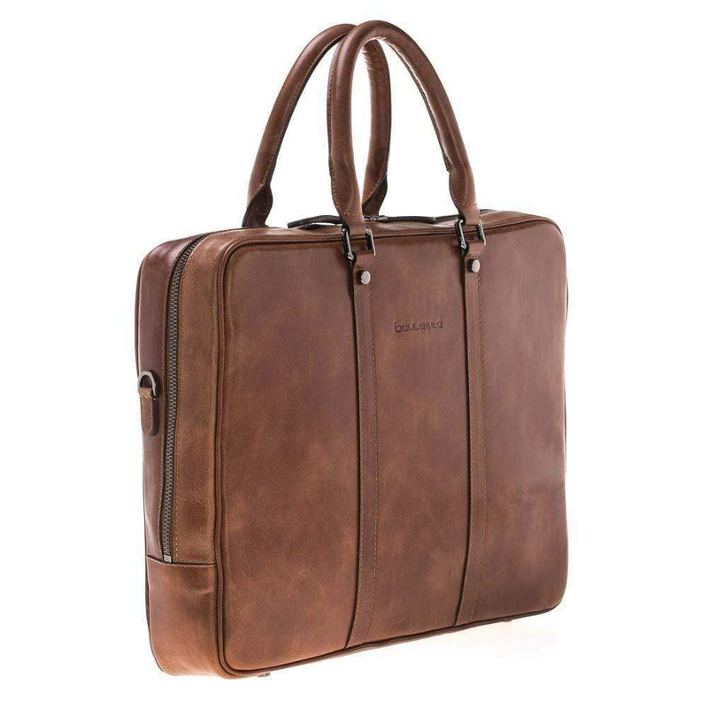 Laptop Sardis Leather Laptop Bag - Tan Bouletta Case