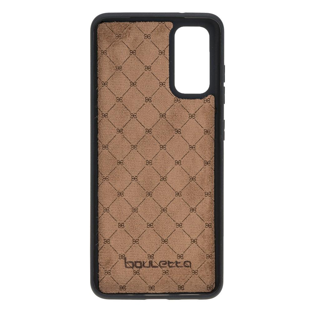 Flex Cover Back Leather Case with Card Holder for Samsung Galaxy S20 RST1