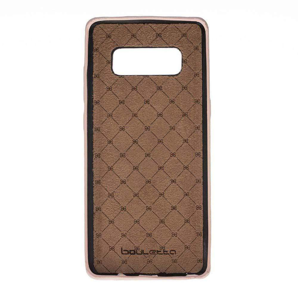 Phone Case Leather Ultra Cover Snap On Back Cover for Samsung Note 8 - NUDE Bouletta Shop