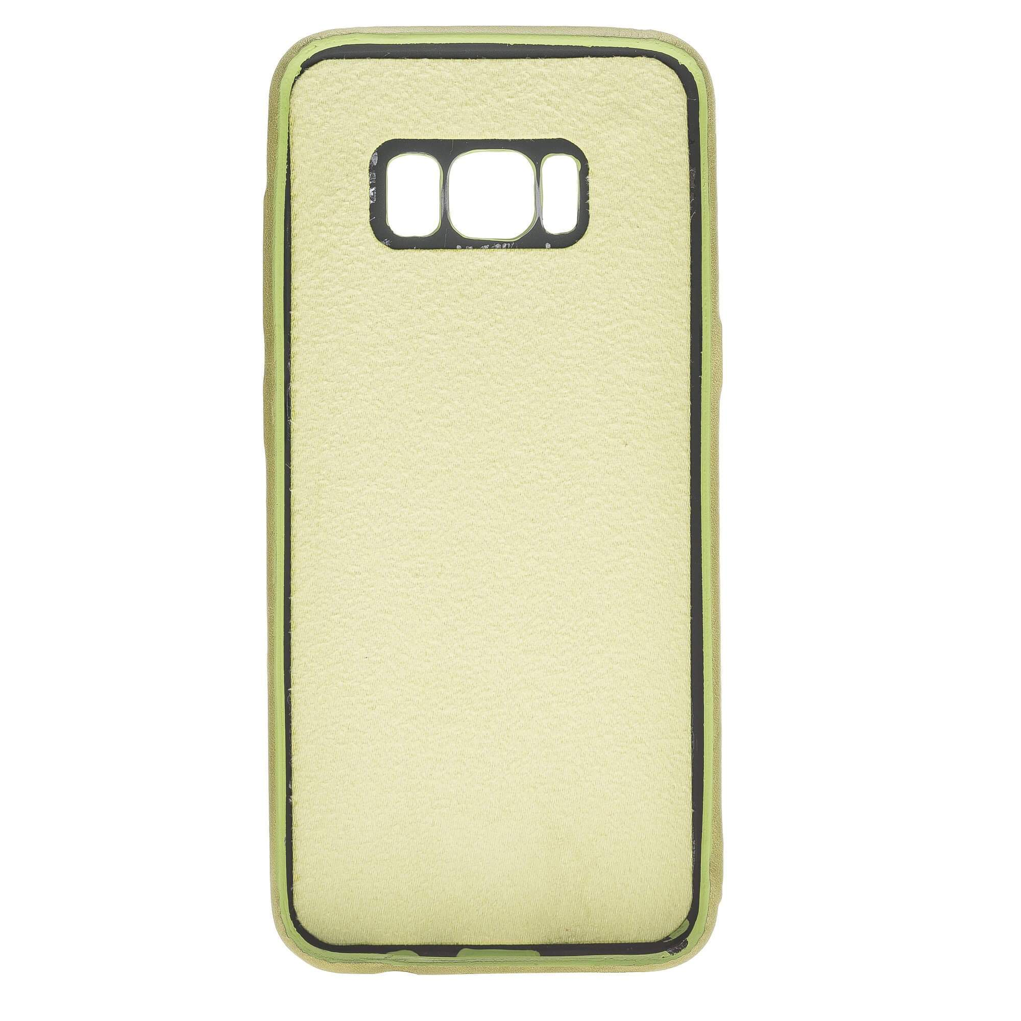 Phone Case Leather Ultra Cover with Credit Card Slots for Samsung S8 - Crazy Green Bouletta Shop