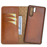 Phone Case Magnetic Detachable Leather Wallet Case for Huawei P30 Pro | RST2EF Bouletta Shop