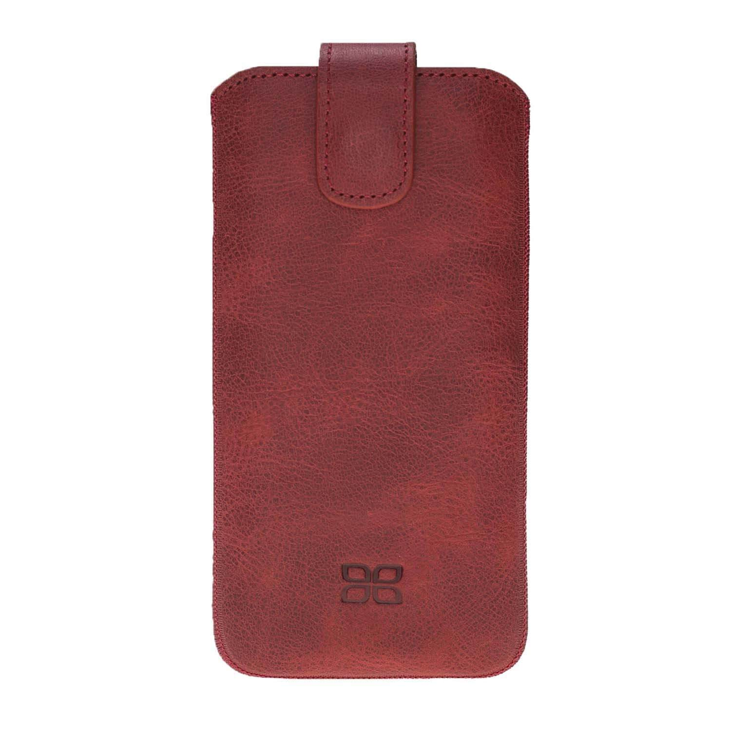 Phone Case Multi Leather Case for Apple iPhone X/XS - Tiguan Red Bouletta Case