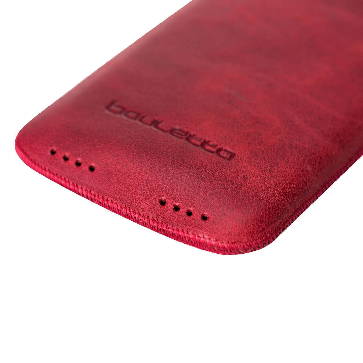 Phone Case Multi Leather Case for Apple iPhone XS Max - Tiguan Red Bouletta Case