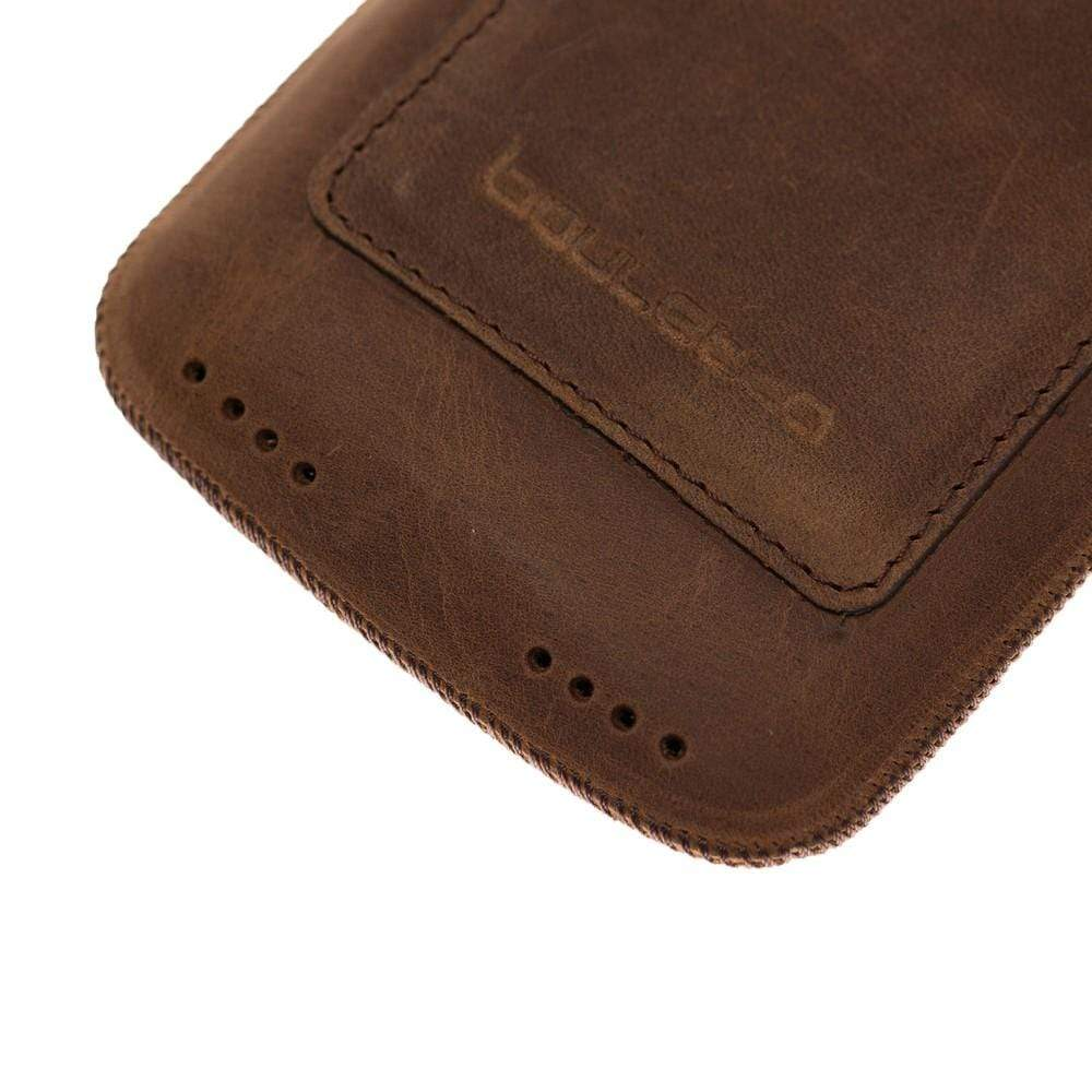 "Multi Leather Case with Card Holder for Apple iPhone XR and 11 6.1"" - Antic Brown"