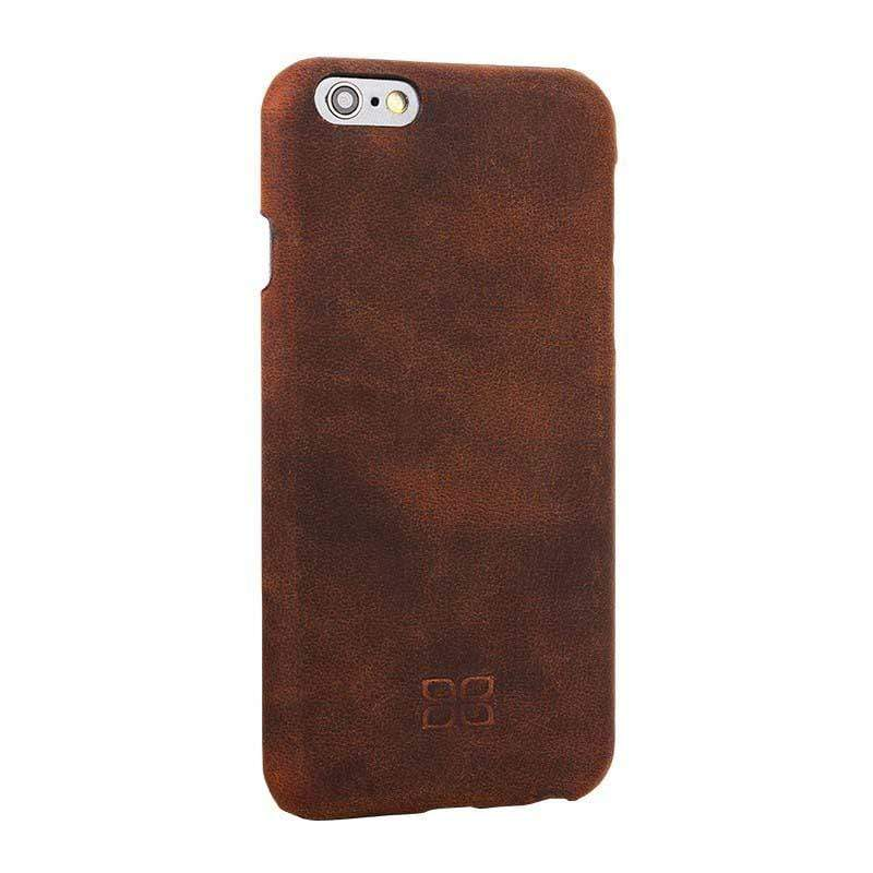 Phone Case Ultimate Jacket Leather Phone Case Apple iPhone 6/6S -  Antic Brown Bouletta Case
