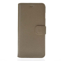 Phone Case Wallet Leather Case for Apple iPhone 6/6S - Floater Grey Bouletta Case