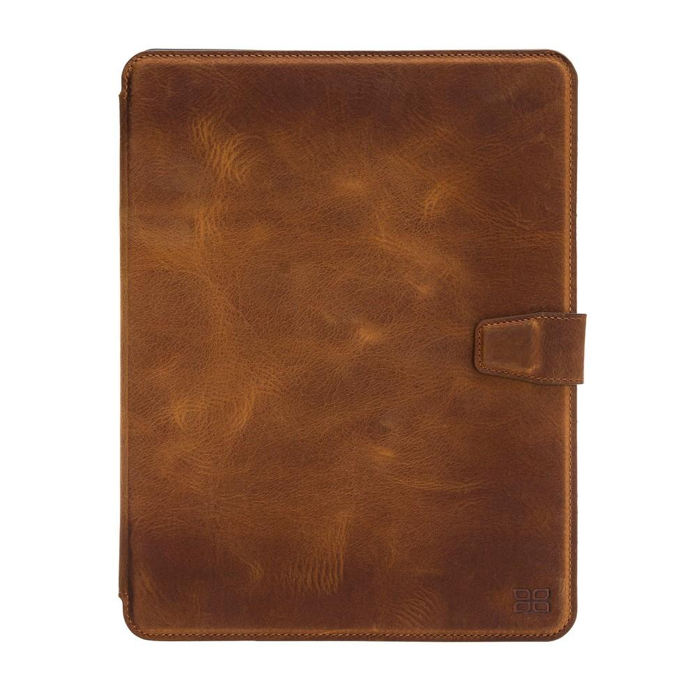 "Wallet Case Eto Magnetic Detachable Leather Wallet Case for iPad Pro 11"" - Antic Tan Bouletta Shop"