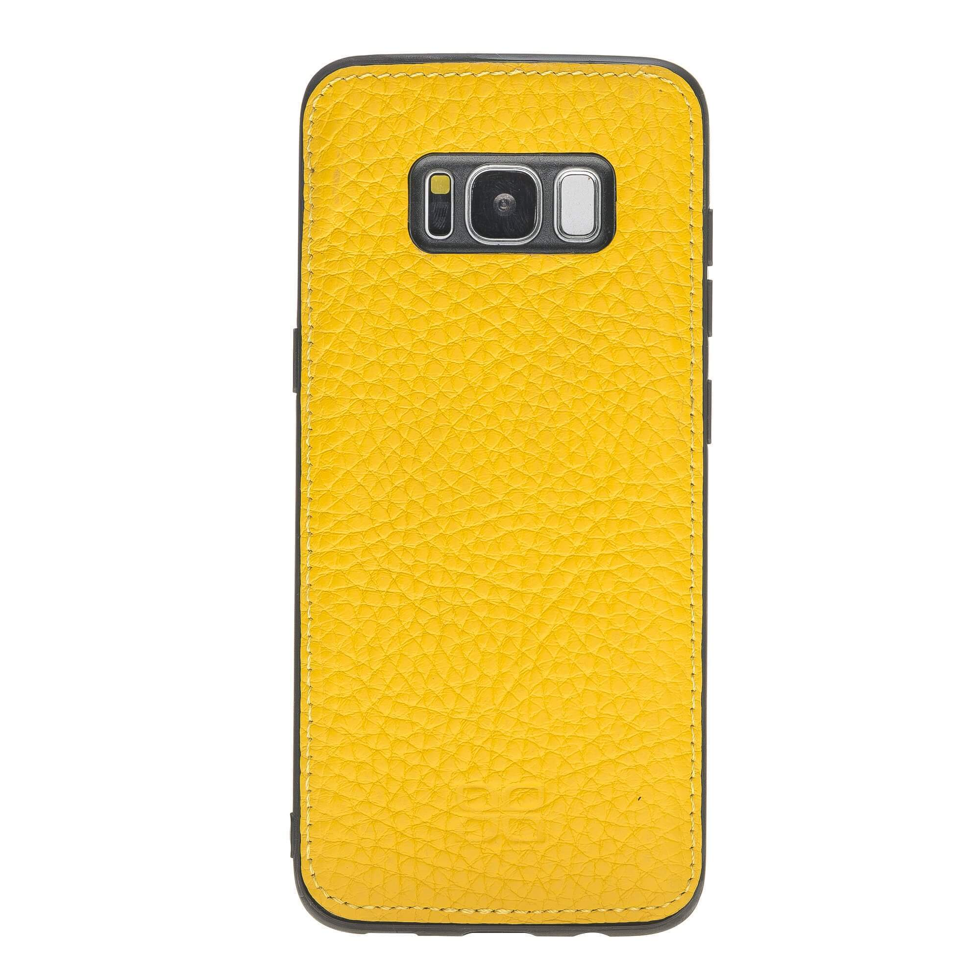 Wallet Case Magnetic Detachable Leather Wallet Case for Samsung S8 Plus - Floater Yellow Bouletta Case