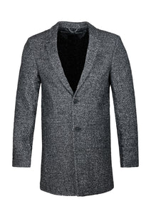 THREADBARE MENS MAYFAIR OR KENSINGTON LONG LINE OVERCOAT