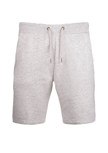 SHORTS - FLEECE - WITH   DRAW STRING - OATGREY