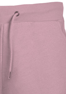 SHORTS - FLEECE - WITH   DRAW STRING - PINK