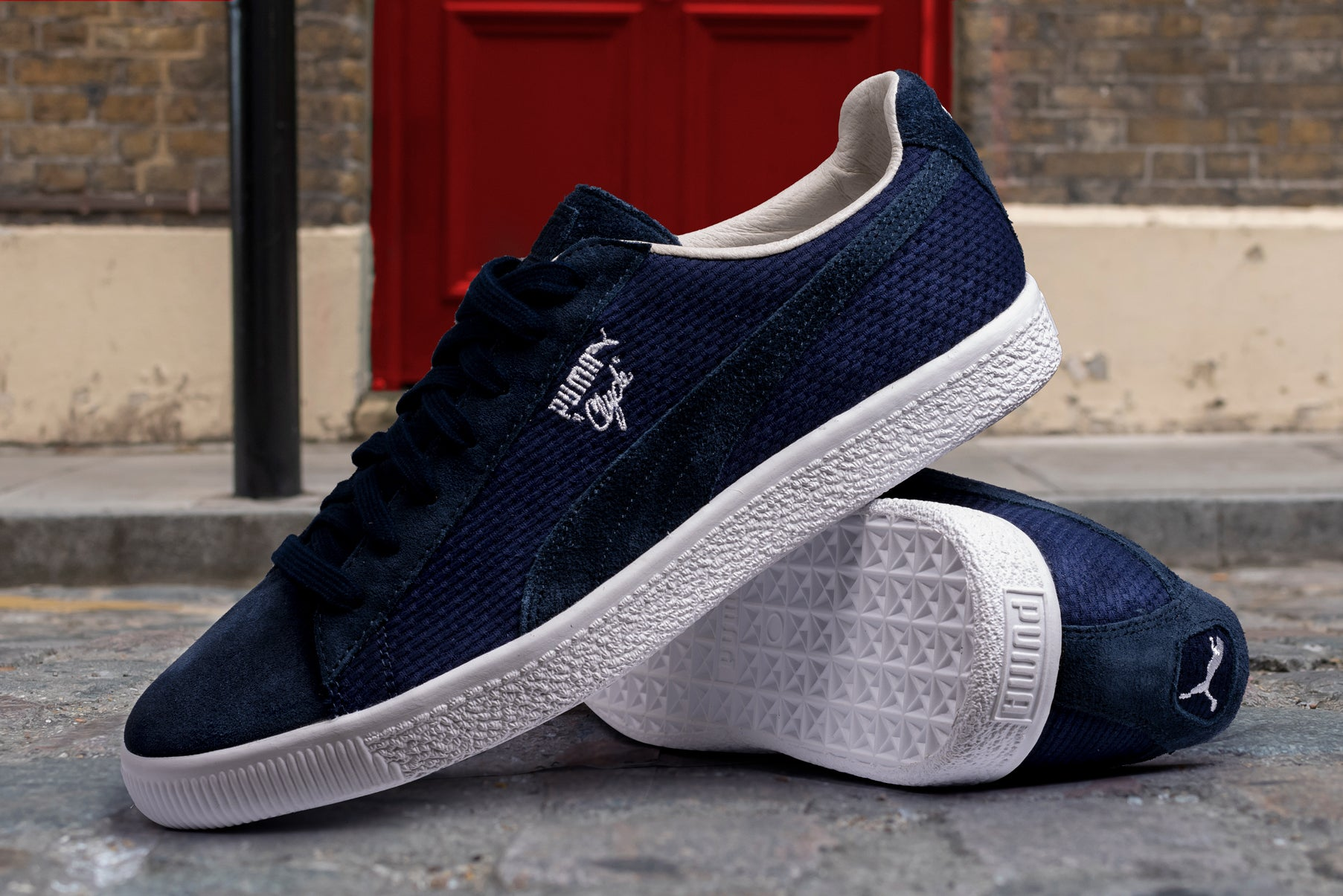 PUMA CLYDE SUEDE MADE IN JAPAN PEACOAT BLUE – Sole Nation 631703328