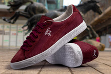 PUMA CLYDE SUEDE MADE IN JAPAN WINETASTING RED