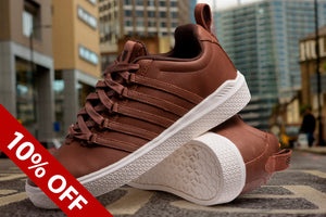 K-SWISS DONOVAN P TORTOISE SHELL/CHOCOLATE