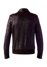DREAMWEAVER LEATHER JACKET BROWN