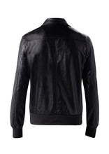 DREAMWEAVER PU BOMBER JACKET BLACK