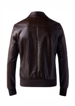 DREAMWEAVER PU BOMBER JACKET BROWN