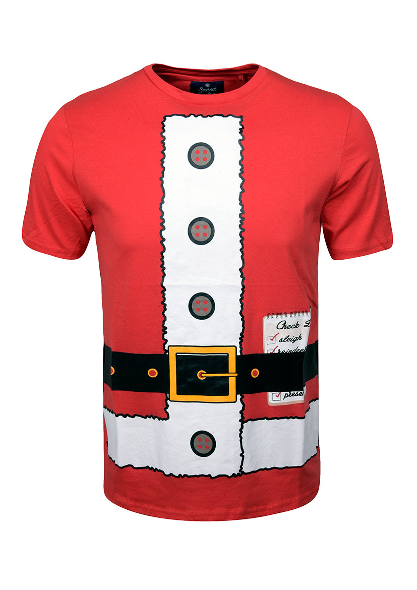 Season's Greetings Mens Christmas T Shirts