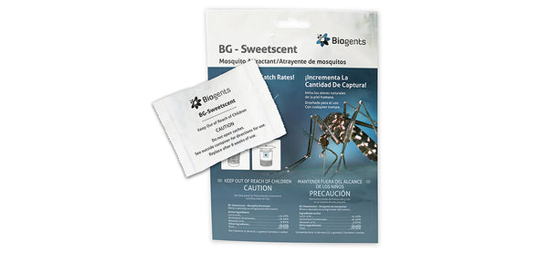BG-Sweetscent <br><small> Attractant for Tiger Mosquitoes</small>