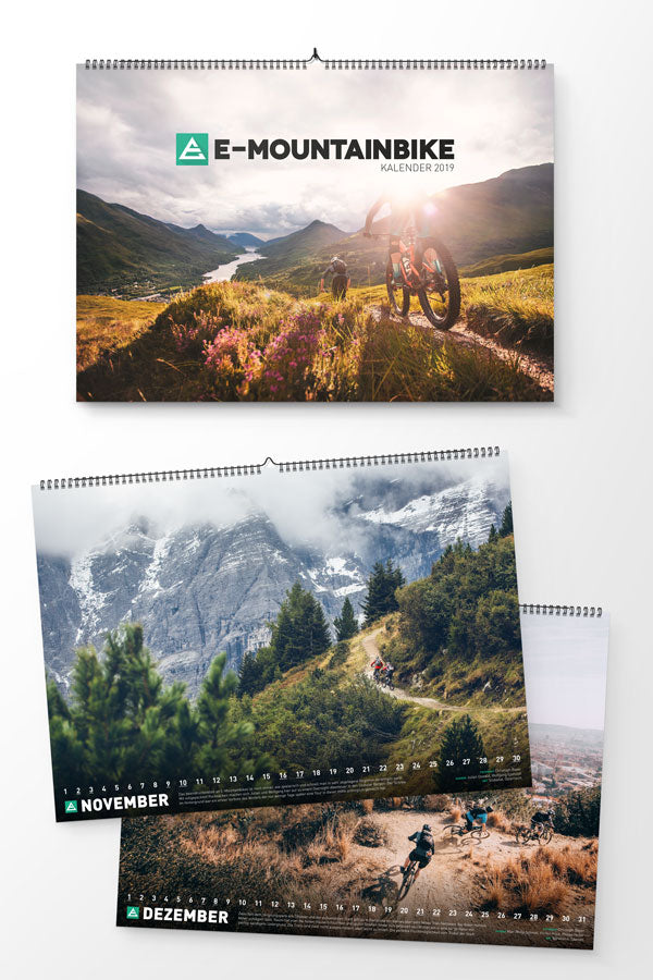 E-MOUNTAINBIKE Calendar 2019 - Limited Edition!