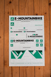 E-MOUNTAINBIKE Sticker Kit