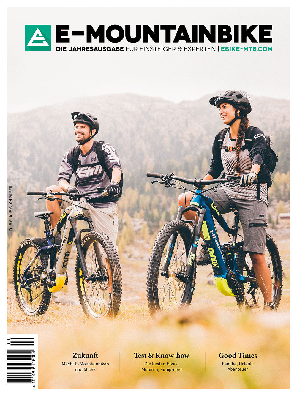 E-MOUNTAINBIKE Print-Edition 2018