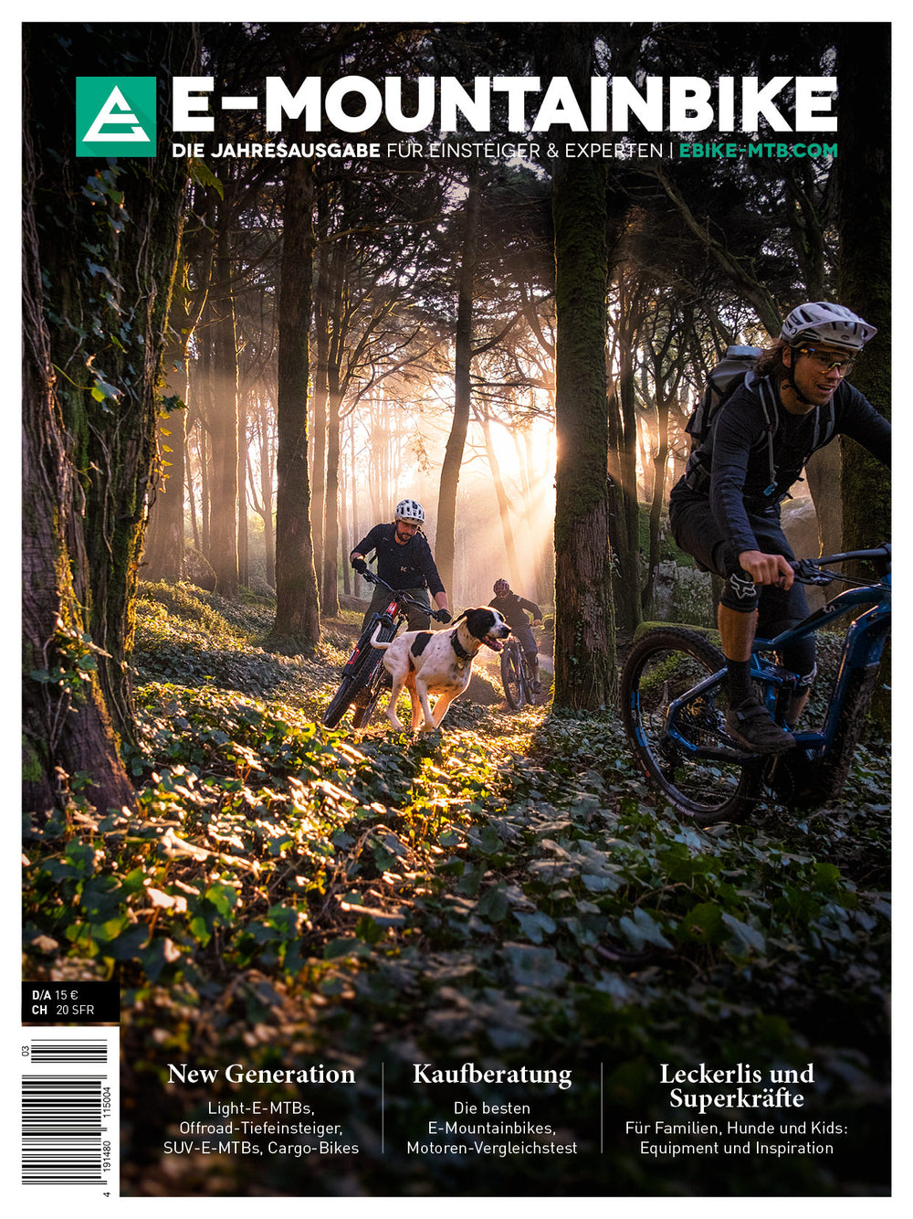 E-MOUNTAINBIKE Print-Edition 2020 (German)