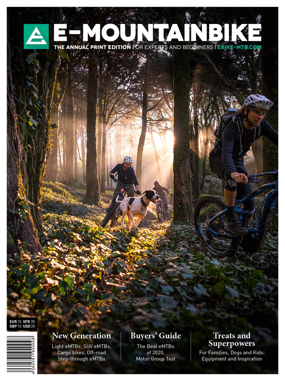E-MOUNTAINBIKE Print Edition 2020 (English)