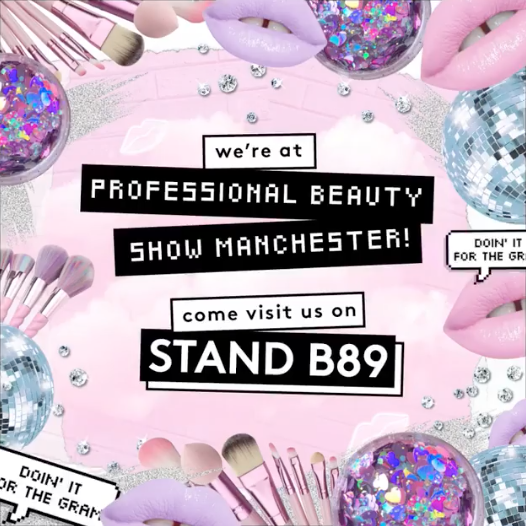 We're At The Professional Beauty Show!