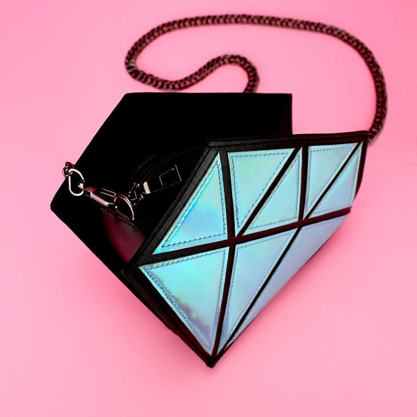 Diamond Hologram Purse