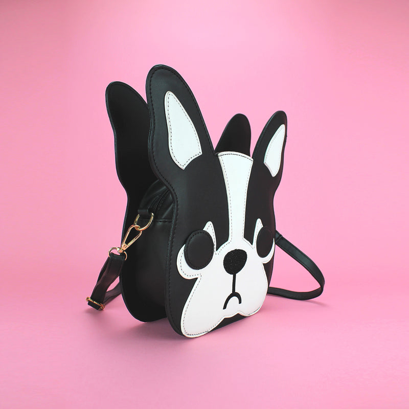 Puppy Face Crossbody Bag