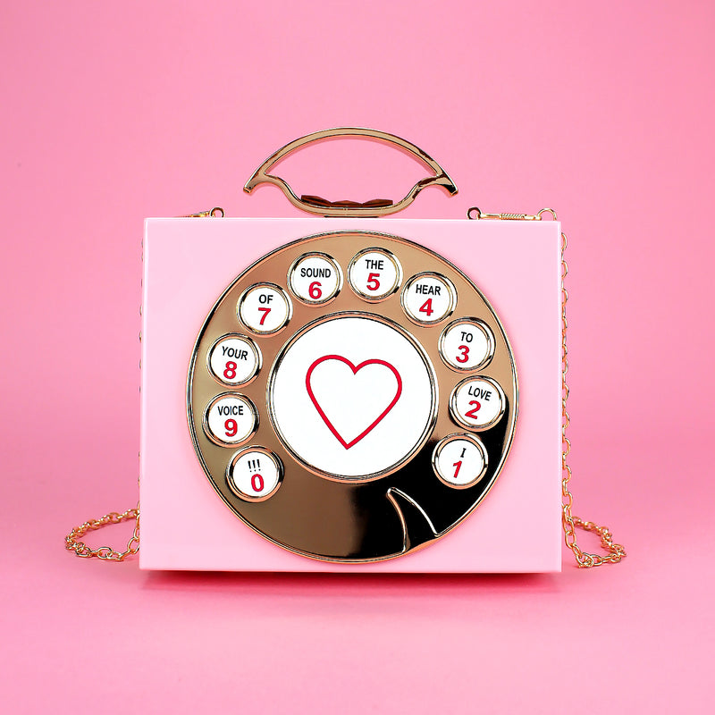 Phone Acrylic Clutch