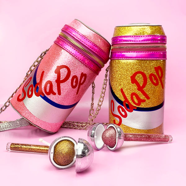 Glitter Soda Pop Purse