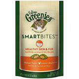 Greenies Smartbites Healthy Skin and Fur Chicken Flavor, 2.1-Oz.