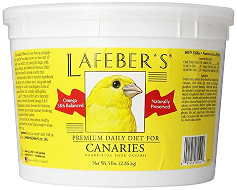 Lafeber Canary Daily Diet Pellets (5-Lbs.)