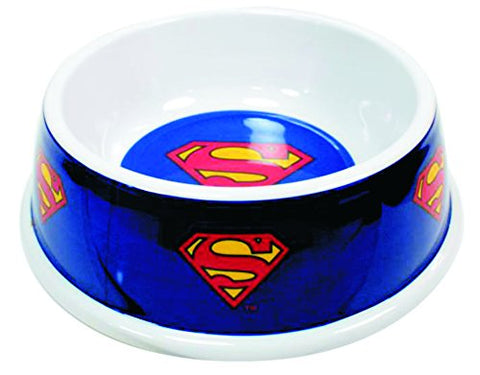 Superman Non-Slip Dog Bowl