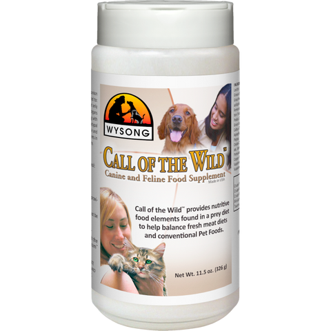 WYSONG Call of the Wild Canine and Feline Food Supplement (11-Oz.)