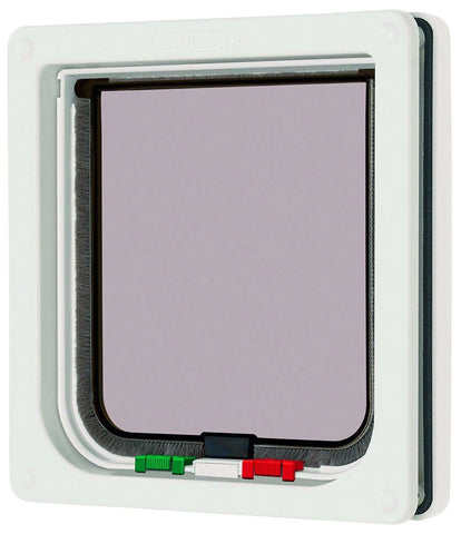 Cat Mate 4 Way Locking Cat Flap-White
