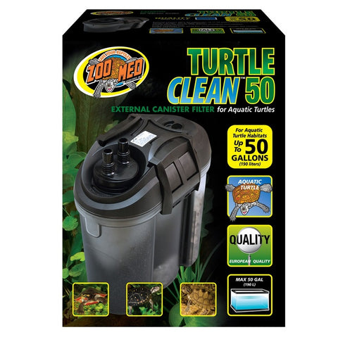 Zoo Med Turtle Clean External Canister Filter (50-Gallon)