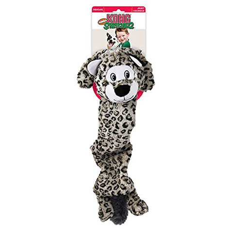 KONG Stretcheez Jumbo Snow Leopard Dog Toy (X-Large)