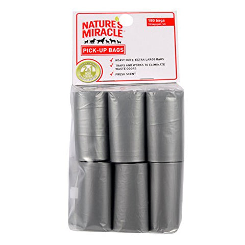 Nature's Miracle Pick-Up Bags (12 Rolls)